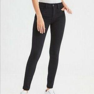American Eagle Hi-Rise Jegging Skinny Jeans Sz 10